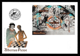 SWEDEN 2009 Albertus Pictor/Church Fresco: First Day Cover CANCELLED - FDC