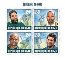 Niger 2013  Cricket Legends - Niger (1960-...)