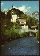 Tschagguns Kirche  -  Alpenpark Montafon  -  Ansichtskarte Ca. 1975    (11423) - Schruns