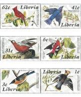 Ref. 31840 * MNH * - LIBERIA. 1985. BICENTENARY OF THE BIRTH OF ORNITHOLOGIST J.J. AUDUBON . BICENTENARIO DEL NACIMIENTO - Liberia