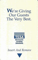 Generic TESA Hotel Room Key Card With AB126317 6/99 On Back - Cartes D'hotel