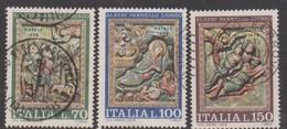Italy Republic S 1319-1321 1975 Christmas,used - 6. 1946-.. Republic