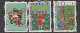 Italy Republic S 1322-1324 1975 Stamp Day,used - 6. 1946-.. Republic