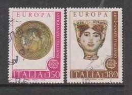 Italy Republic S 1333-1334 1976 Europa ,used - 6. 1946-.. Republic