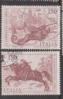 Italy Republic S 1340-1341  1976 450th Anniversary Death Of Carpaccio,used - 6. 1946-.. Republic
