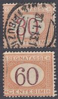 ITALIA - Segnatasse - Lotto Di 2 Valori Usati: Yvert 8 E 11. - 1861-78 Victor Emmanuel II.