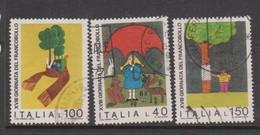 Italy Republic S 1349-1351 1976 Stamo Day,used - 6. 1946-.. Republic
