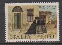 Italy Republic S 1357 1976 Silvestro Lega,used - 6. 1946-.. Republic