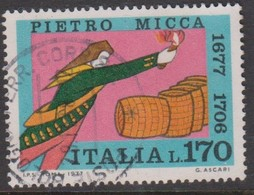 Italy Republic S 1365 1977 Pietro Micca ,used - 6. 1946-.. Republic