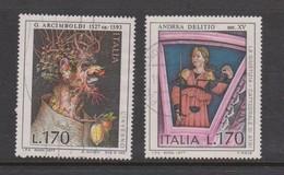 Italy Republic S 1380-1381 1977 Art 4th Issue ,used - 6. 1946-.. Republic