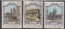 Italy Republic S 1386-1388 1977 Fountains 5th Issue Used - 6. 1946-.. Republic
