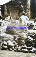 116157 MEXICO COSTUMES MARKET CALABAZAS Y CHAROLAS POSTAL POSTCARD - Mexique