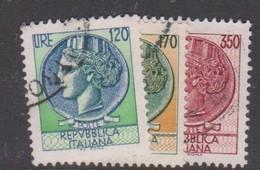 Italy Republic S 1395-1397 1977 Italia Turrita 3 Val,used - 1971-80: Used