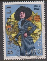 Italy Republic S 1398 1977 Dina Galli Birth Centenary,used - 1971-80: Used