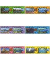 Ref. 180664 * MNH * - NICARAGUA. 1978. VOLCANES Y LAGOS - Nicaragua