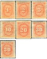 Ref. 347934 * MNH * - NICARAGUA. 1896. POSTAGE DUE . TASAS - Nicaragua