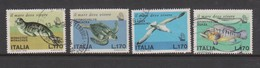 Italy Republic S 1406-1409 1978 Endangered Species,used - 1971-80: Used