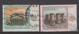 Italy Republic S 1410-1411 1978 Europa ,used - 1971-80: Used