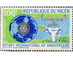 Ref. 29451 * MNH * - NIGER. 1970. 65 ANIVERSARIO ROTARY INTERNACIONAL. - Niger (1960-...)