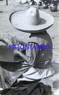 116165 MEXICO COSTUMES WOMAN WORKING POSTAL POSTCARD - México