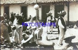 116177 MEXICO CUERNAVACA MORELOS MARKET MERCADO POSTAL POSTCARD - Mexique