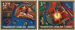 Ref. 56753 * MNH * - NORWAY. 1997. MILLENNIUM OF THE CITY OF TRONDHEIM . MILENIO DE LA CIUDAD DE TRONDHEIM - Ongebruikt