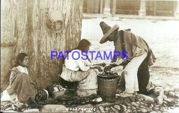 116184 MEXICO COSTUMES FRUTERA SELLER VENDEDORA POSTAL POSTCARD - Mexique