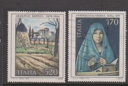 Italy Republic S 1448-1449 1979 Art 6th Issue,used - 1971-80: Used