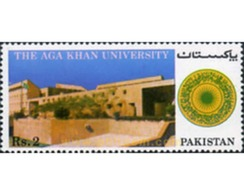 Ref. 349254 * MNH * - PAKISTAN. 1983. UNIVERSIDAD AGA-KHAN - Arquitectura