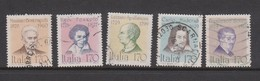 Italy Republic S 1455-1459 1979 Famous People,used - 1971-80: Used