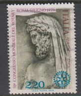 Italy Republic S 1464 1979 70th World Rotary Congress,used - 1971-80: Used