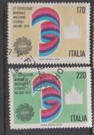 Italy Republic S 1468-1469 1979 3rd World Machine Tool Exhibition,used - 1971-80: Used