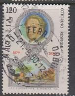 Italy Republic S 1470 1979 Ottorino Respighi Birth Centenary, Used - 1971-80: Used