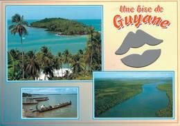 La Guyane Isles Du Salut Le Maroni Riviere De Cayenne 2016  CPM Ou CPSM - Guyane