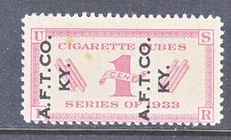 U.S.  RH 3  CIGARETTES  TUBES   TOBACCO  A.F.T. CO.  KY. - Revenues