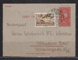 Ungarn Lot 9 Ganzsachen Mit Bildpostkarten Aus K 42 Bis P 104 O Teils ZuF Alle Ins Ausland Gelaufen - Postal Stationery