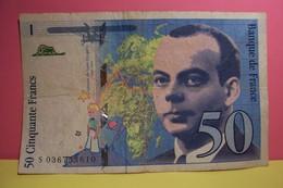 CINQUANTE FRANCS  - SAINT EXUPERY - 50 FRANCS - ( Année 1997 ) - 1962-1997 ''Francs''