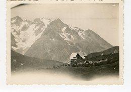 Chalet Restaurant Col Du Lautaret 30s RARE 1937 Hautes Alpes - Places