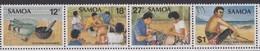 Samoa SG 602-605 1981 Tattooing,mint Never Hinged - Samoa