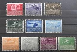 Viena 1933 WIPA  Austria Francobolli Pubblicitari MLH*(set2016/16 - Erinnofilia
