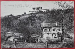 Cpa 64 BIARRITZ Environ De  Villa Arnaga E. Rostand, Moulin - France