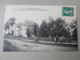 PAS DE CALAIS LUMBRES LE JARDIN PUBLIC ET LE CHATEAU DE M. DE RAISMES - Lumbres
