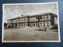 19961) CUNEO NUOVA STAZIONE FERROVIARIA VIAGGIATA 1939 - Cuneo