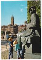 Kobenhavn - Radhuspladsen Og H.C. Andersen Statue - (Danmark) - Denemarken