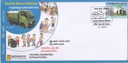 INDIA 2019 E - Garbage Collection Van  Hygine  Bidar Special Cover  # 20569   D Inde  Indien - India