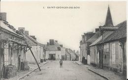 Carte Postale Ancienne De Saint Georges Du Bois ( 72 ) - France