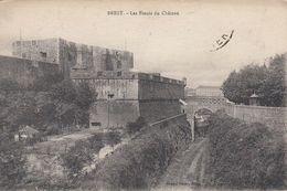 Cp , 29 , BREST , Les Fossés Du Château - Brest