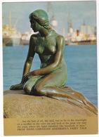 Kobenhavn - Die Kleine Meerjungfer Auf Der Langelinie / The Little Mermaid At Langelinie, Copenhagen - (Danmark) - 1968 - Denemarken