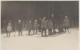 AK- Tschechien - Schifahrer - Skigebiet Spindlmühle - Svatý Petr 1930 - Tschechische Republik