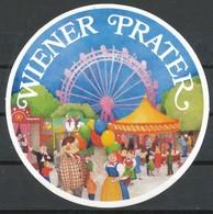 Vignette  Aufkleber  Wiener Prater - Vignetten (Erinnophilie)